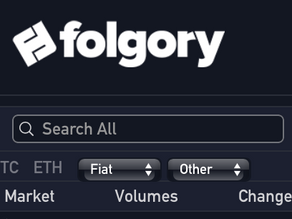 ANS Crypto Coin Lists on Folgory Exchange