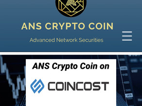 ANS Crypto Coin on Coincost.net