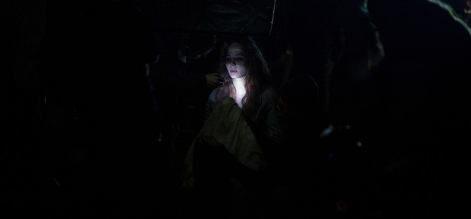 Jenna in the dark