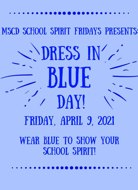 2020-2021 MSCD School Spirit Fridays (15