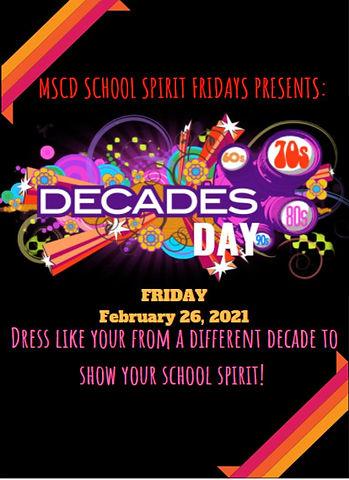 2020-2021 MSCD School Spirit Fridays (11