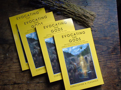Evocating the Gods by Christopher A Plai