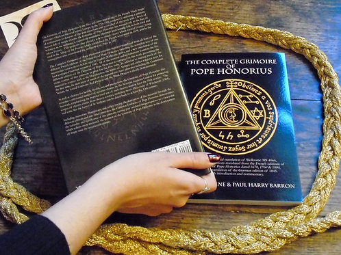 The Complete Grimoire of Pope Honorius by David Rankine and Paul Harry Barron