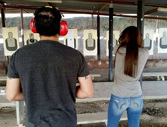 Couple handgun course