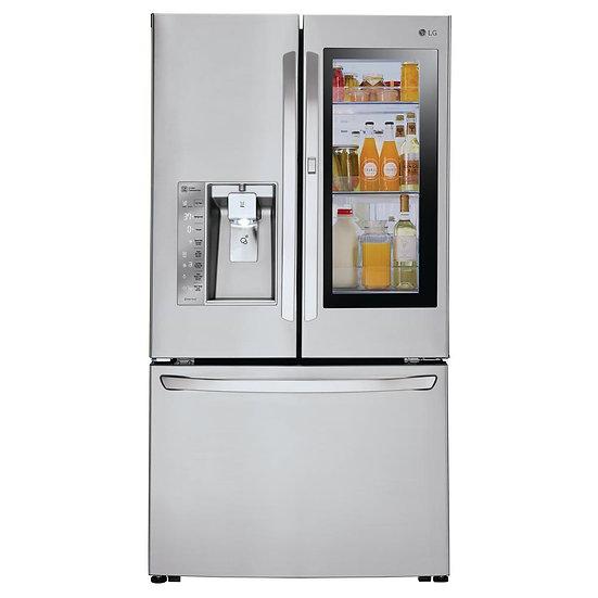 3-Door French Door Smart Refrigerator with InstaView Door-in-Door