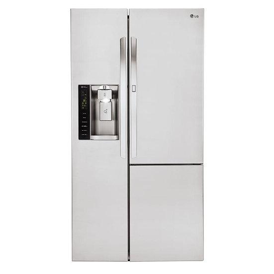 Side by Side Refrigerator with Door-in-Door