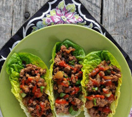 Thai Beef Wraps - Make These Tonight