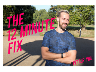 The 12 Minute Fix - Bodyweight Edition