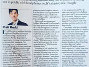 The Sunday Times Magazine - Fitter You Class Review