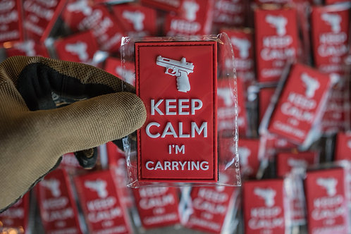 Keep Calm I'm Carrying Patch