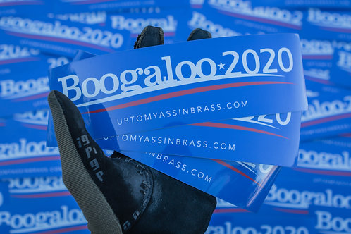 Boogaloo 2020 Sticker - 3 Pack