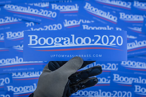 Boogaloo 2020 Sticker