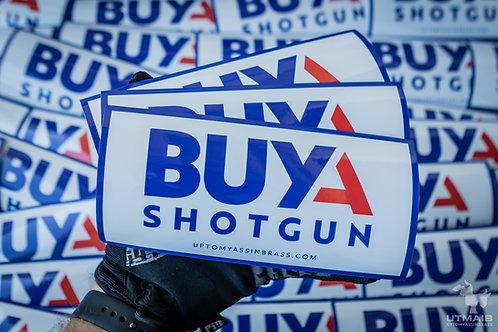 Buy A Shotgun Sticker - 3 Pack