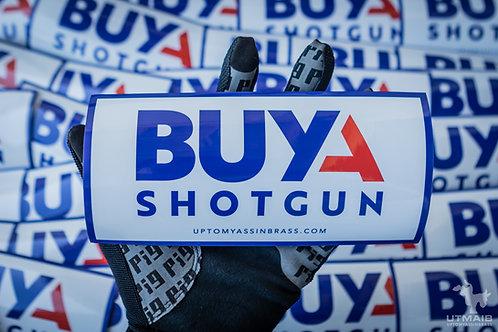 Buy A Shotgun Sticker