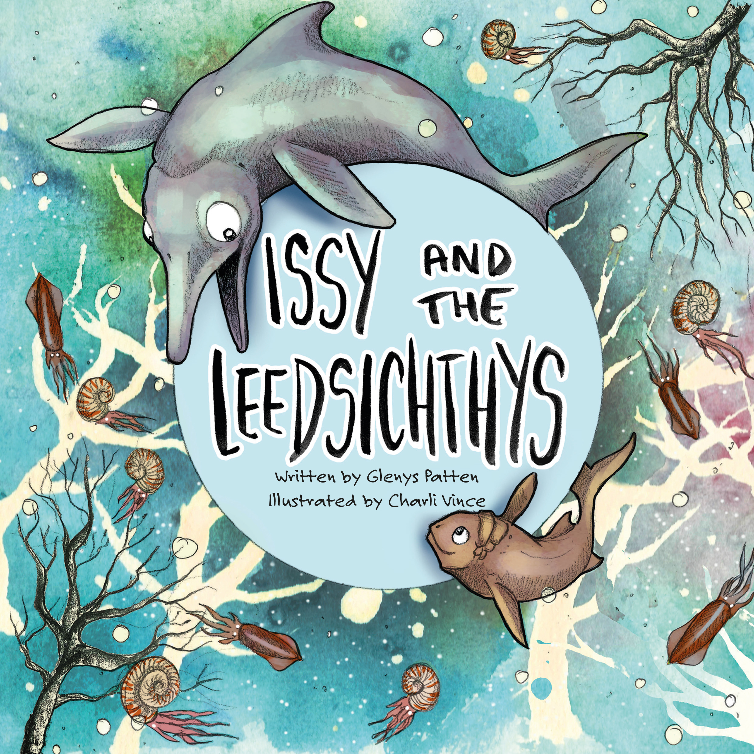 Issy the Ichthyosaur and the Leedsichthys