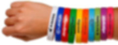 Silicon Logo Wristbands