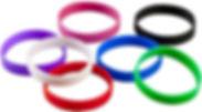 Logo Silicon Wristbands