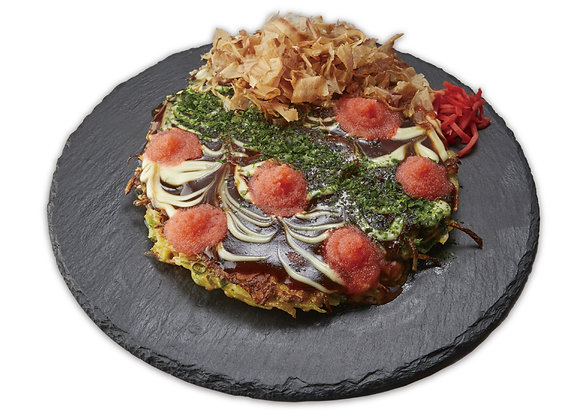 Mentaiko Okonomiyaki