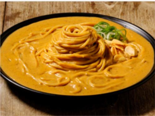 Beef cream curry pasta