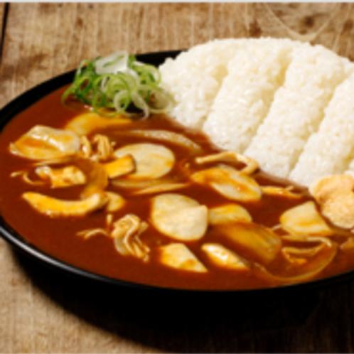 Mushroom curry rice