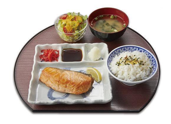 Sake Shioyaki Set
