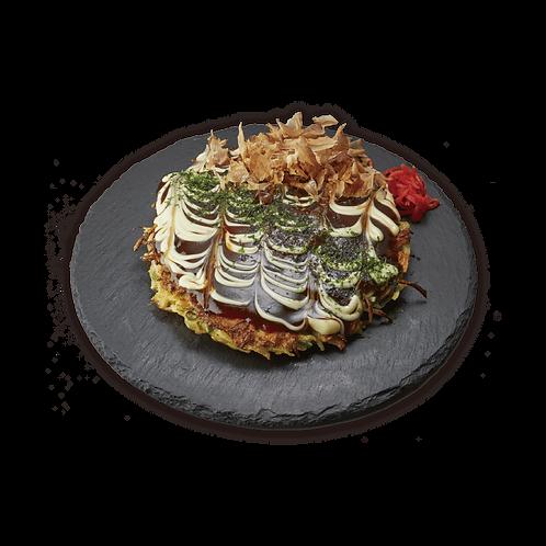 Okonomiyaki ( 1 served )