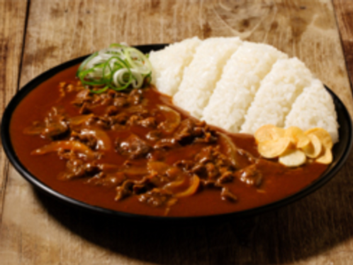 Beef hashed rice