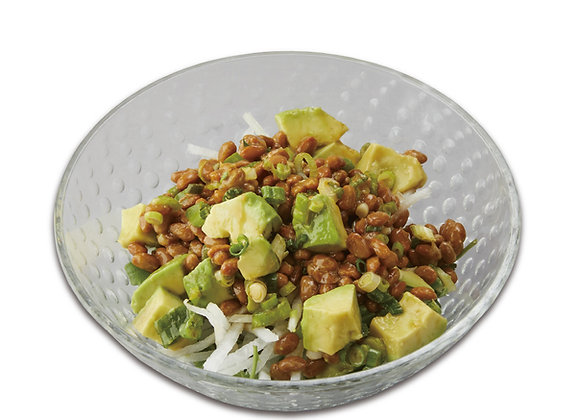 Organic Natto & Avocado Salad