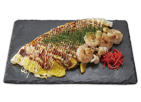 Seafood Yakiudon