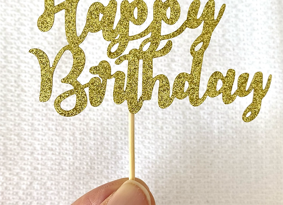 Happy Birthday Topper