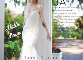 Braut Portraits wieder ab Mai 2020