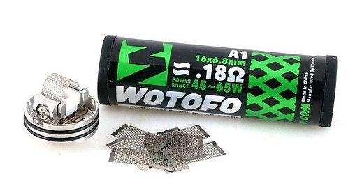 Wotofo Prebuilt Mesh coils. 0.18 Ohm.