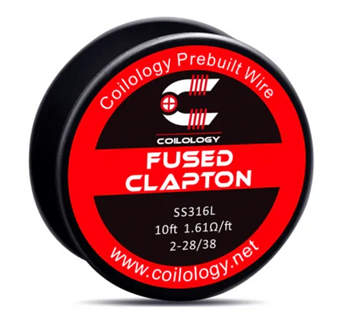 Coilology Fused Clapton Prebuilt Wire Spool