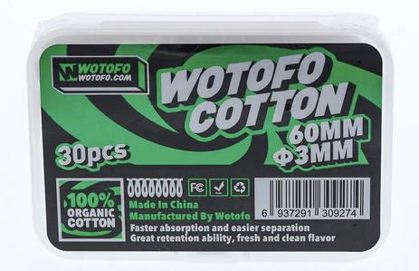 Wotofo cotton, TheCoilMan Australia product photo.
