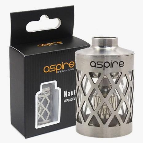 Aspire Nautilus Replacement Tank with Metal Sleeve, TheCoilMan Australia product photo.