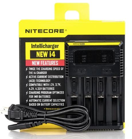 Nitecore charger i4