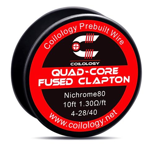 Coilology Quad-Core Fused Clapton Prebuilt Wire