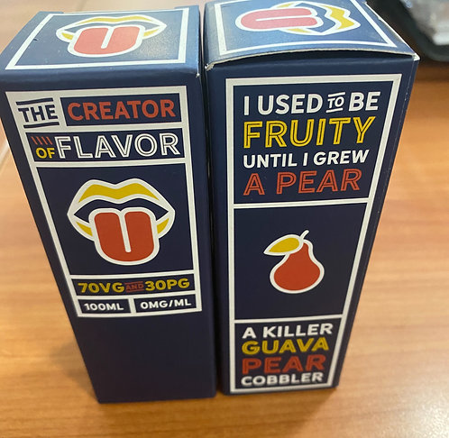Charlie's Chalk Dust Creator of Flavor E Liquid.