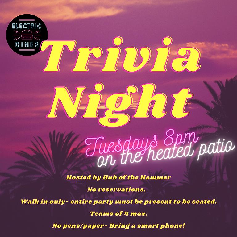 Trivia Night on the Heated Patio!