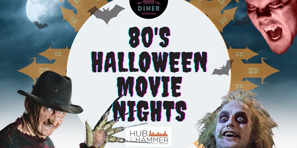 "80's Halloween Movie Night ""Nightmare On Elm Street"""