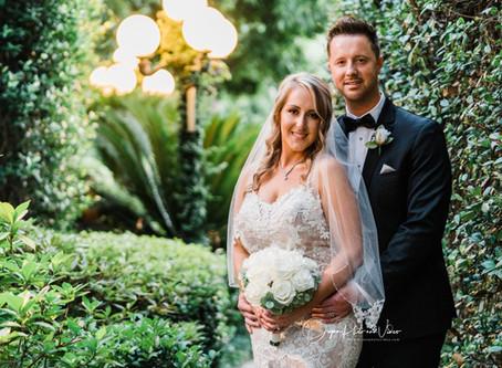 Stephanie and Aaron's beautiful wedding at Heather's Glen