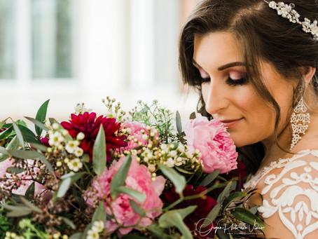 Erin's Bridal Photoshoot at Ashton Garden West