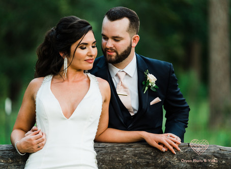 Lacey and Lee's wedding at Carriage House