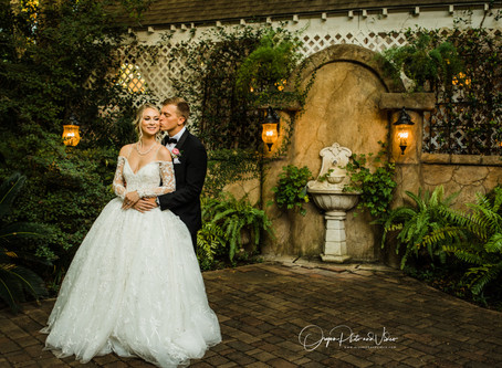 Karli and Charlie's special day at Heather's Glen