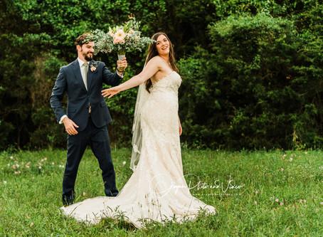 Caroline and Stephen's Quarantine Wedding in Brenham, TX