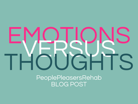 Thoughts, Feelings Behaviour - Why our emotions control the show not our thoughts.