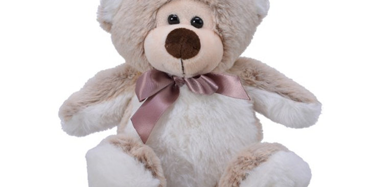 ours peluche a/noeud satin