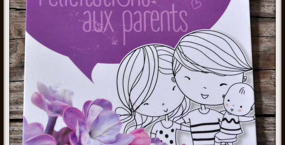 Félicitations aux parents