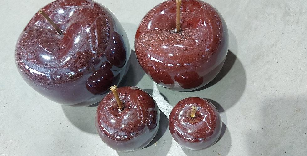 Pack de 4 pommes bordeaux
