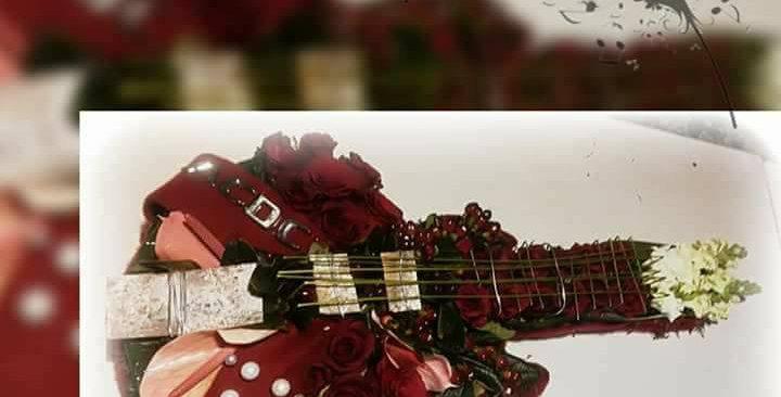 Guitare 70x30cm